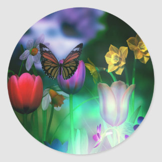 Butterfly dream garden stickers
