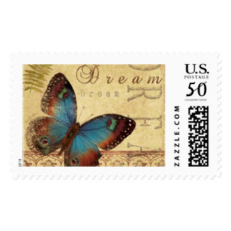 Butterfly dream stamps