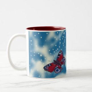 Butterfly Dream Taza De Café De Dos Colores