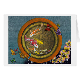 Butterfly Dream VI (I Ching Fish Pot) Cards