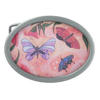 Butterfly Dreaming Belt Buckle