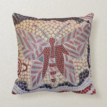 Butterfly Dreaming Pillow Cushion
