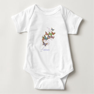 Butterfly Dreams Baby T-Shirt
