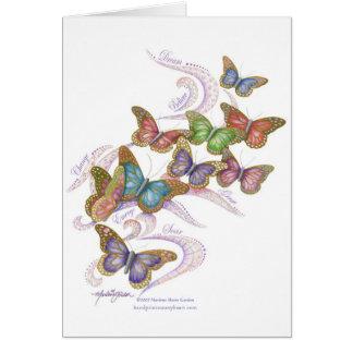 Butterfly Dreams Blank Notecard