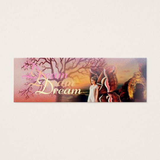 Butterfly Dreams Bookmarker Mini Business Card