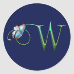 Butterfly Dreams W Round Stickers