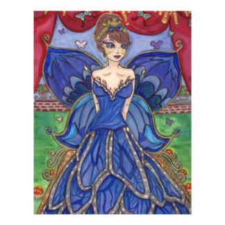 butterfly dress letterhead