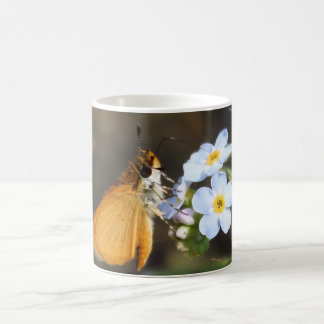 Butterfly Drinking Nectar Coffee Mug