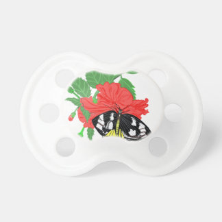 Butterfly Drinking Nectar Pacifier