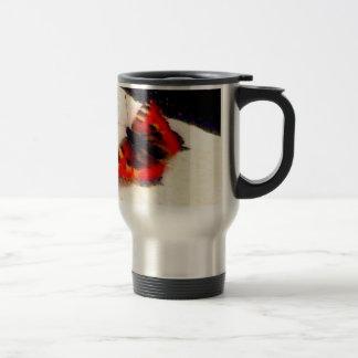 butterfly drinking vessel travel mug