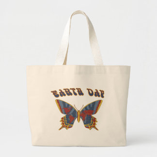Butterfly Earth Day Tote Bag