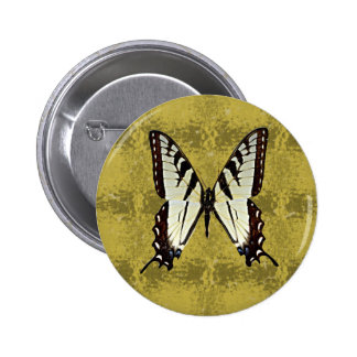 Butterfly (Eastern Tiger Swallowtail) Pinback Buttons