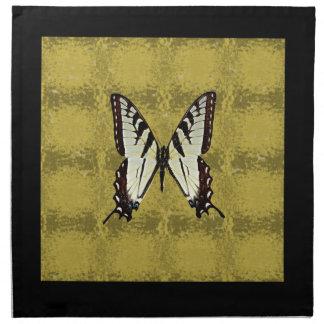 Butterfly (Eastern Tiger Swallowtail) Napkin