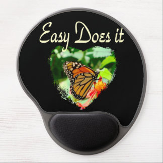 BUTTERFLY EASY DOES IT PHOTO GEL MOUSE PAD