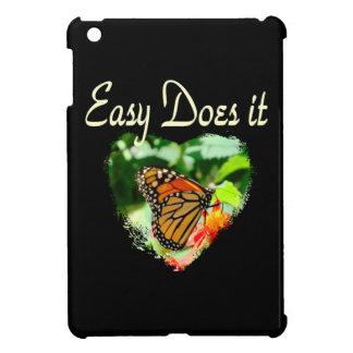 BUTTERFLY EASY DOES IT PHOTO iPad MINI CASES
