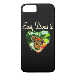 BUTTERFLY EASY DOES IT PHOTO iPhone 7 CASE