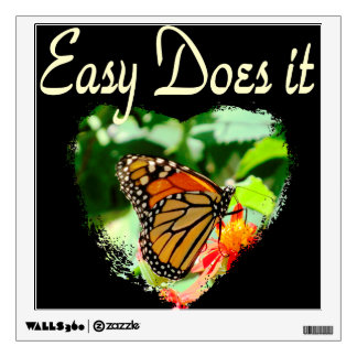BUTTERFLY EASY DOES IT PHOTO WALL DECAL