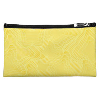 Butterfly Echoes (yellow) Makeup Bag