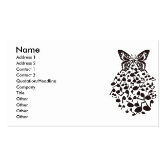Butterfly_Effect Double-Sided Standard Business Cards (Pack Of 100)
