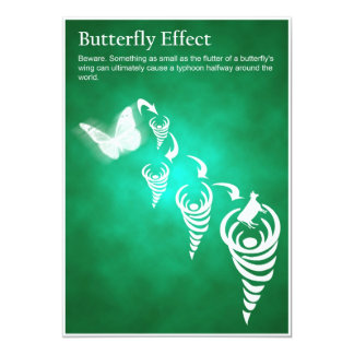 Butterfly Effect - Post Card