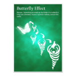 Butterfly Effect - Post Card Personalized Invitations