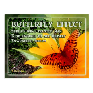Butterfly Effect Postcard