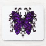 Butterfly Effect (purple) Mouse Mat