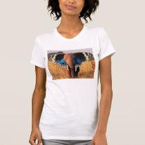 Butterfly Elephant T-Shirt