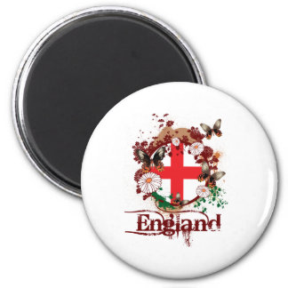 Butterfly England Magnet