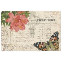 Butterfly Ephemera Image Transfer Sheet
