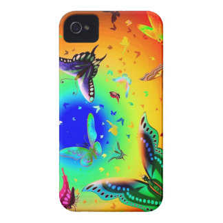 Butterfly escape iPhone 4 Case-Mate case