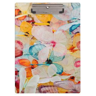 Butterfly exhibit clipboard