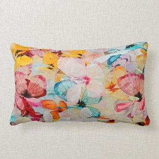 Butterfly exhibit lumbar pillow