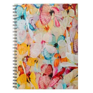 Butterfly exhibit notebook