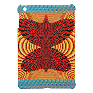 Butterfly Exotic Diamond Infinity Golden Fire GIFT Cover For The iPad Mini