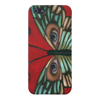 Butterfly Eyes Cases For iPhone 5