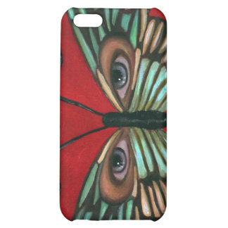 Butterfly Eyes Cover For iPhone 5C