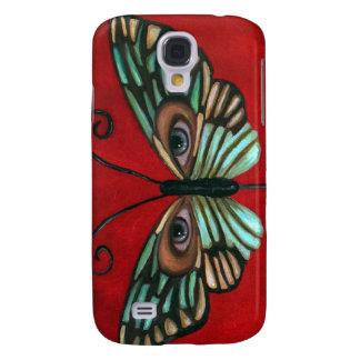 Butterfly Eyes Galaxy S4 Case