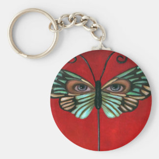 Butterfly Eyes Key Chains