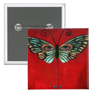 Butterfly Eyes Pin
