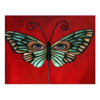 Butterfly Eyes Postcard