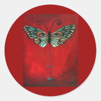 Butterfly Eyes Stickers