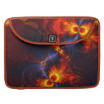 Butterfly Eyes - Violet & Gold Wings Sleeve For MacBook Pro