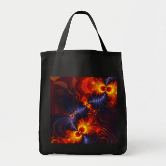 Butterfly Eyes - Violet & Gold Wings Tote Bag