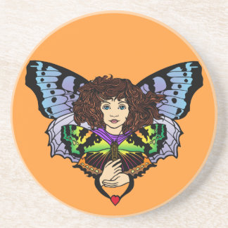 Butterfly Faerie Coaster