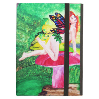 Butterfly Fairies Watercolor iPad Case