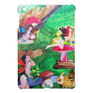 Butterfly Fairies Watercolor iPad Mini Case