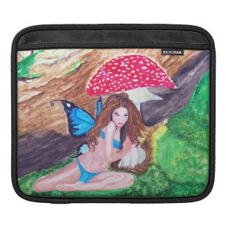 Butterfly Fairies Watercolor iPad sleeve 2