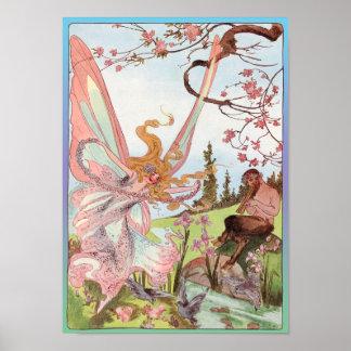Butterfly Fairy and Centaur Print