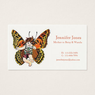 Butterfly Fairy Calling Card